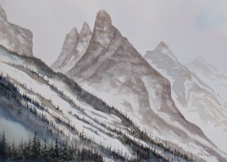 A land of peaks.