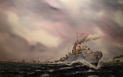 Round up.(HMCS Calgary North Atlantic convoys WWII )