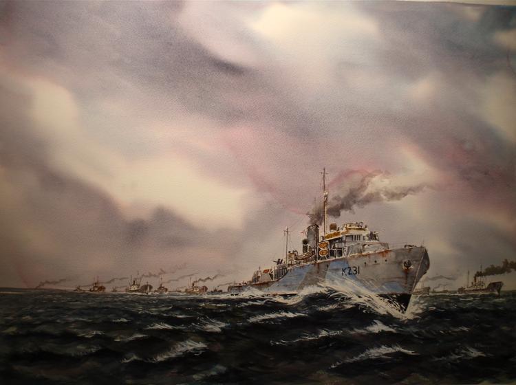 Round up.(HMCS Calgary North Atlantic convoys WWII )