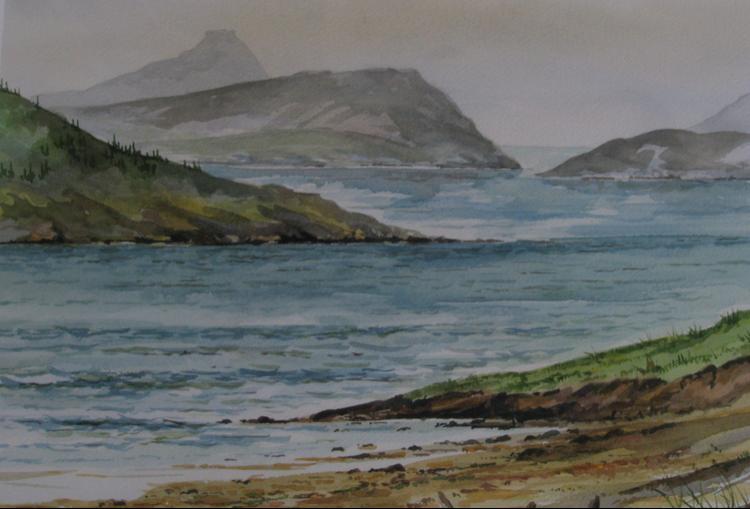 The Skye coast