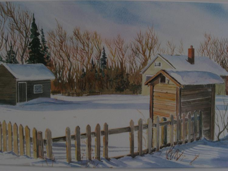 The little house at the end of the yard