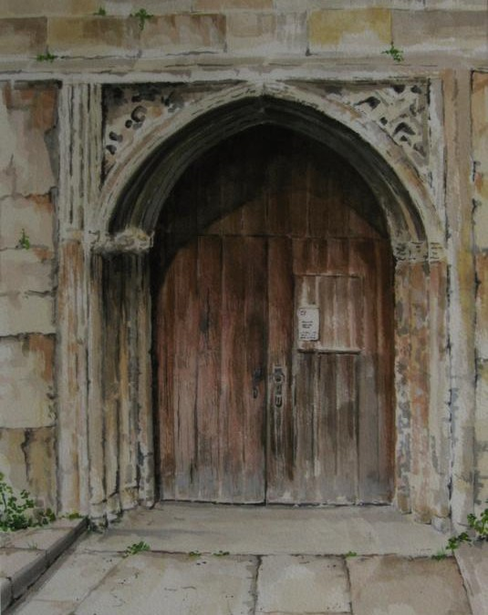 A Path long travelled (Church door)
