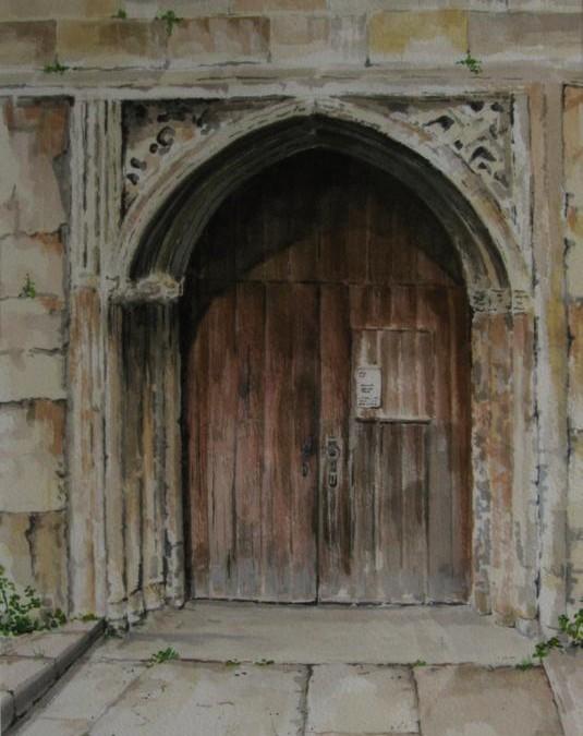 A Path long travelled (Church door)