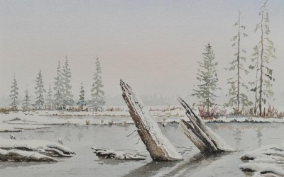 Winter solitude II