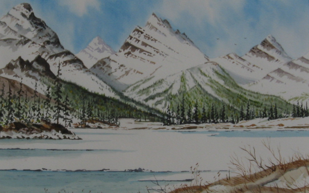 Spring thaw: Kananaskis country.