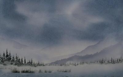 Mist over Vermillion II